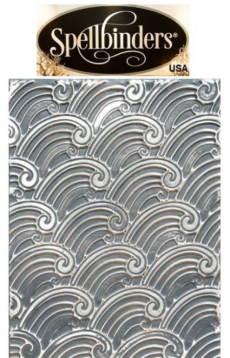 "FOLDER 3D Spellbinders, USA - Папка за релеф (ембос) 3Д дизайн 4¼ x 5½"" / e3ds-007"