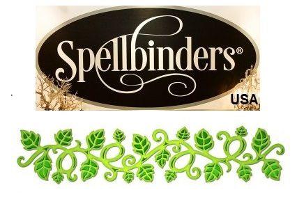 Spellbinders USA - К-кт шаблони за изрязване и ембос S7-017