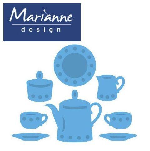 Marianne Design PETRAS CORNER - Шаблони за рязане и ембос