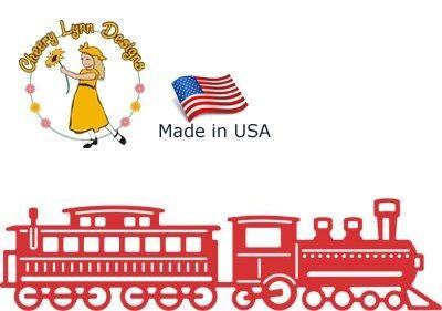 Cheery Lynn ,USA - Шаблон за рязане и ембос / b313