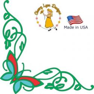 Cheery Lynn ,USA - Шаблон за рязане и ембос b205