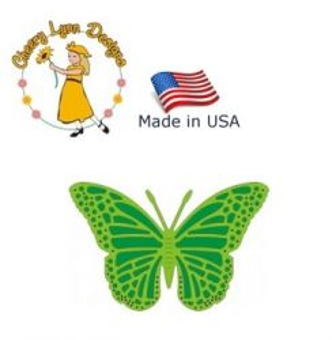 BUTTERFLY Cheery Lynn ,USA - Шаблон за рязане и ембос Пеперуда / dl116
