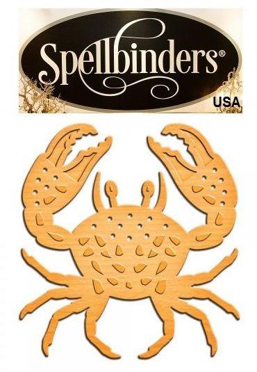 SEA by Spellbinders USA - шаблон за изрязване и ембос in-040 HORSESHOE CRAB