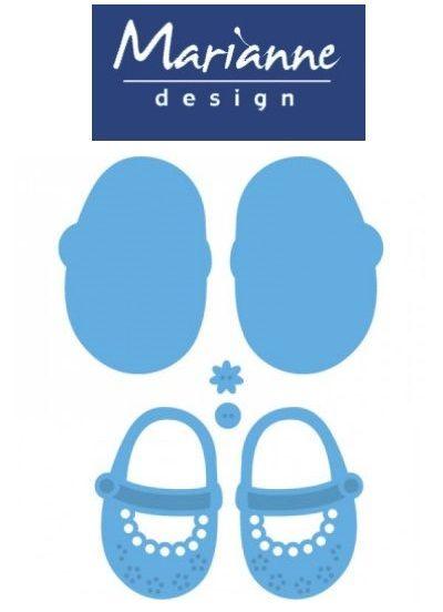 BABY by Marianne Design - Шаблон за рязане и ембос LR0303