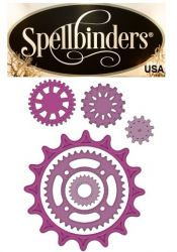 Spellbinders USA - К-кт шаблони за изрязване и ембос S5-048