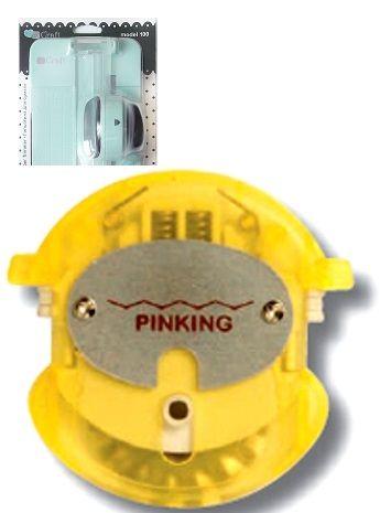 TRIMMER  BLADE - Резервен/сменяем нож за тример JCTR - PINKING