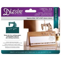 CARD Diesire DIES EDGEABLES - SEW IN LOVE