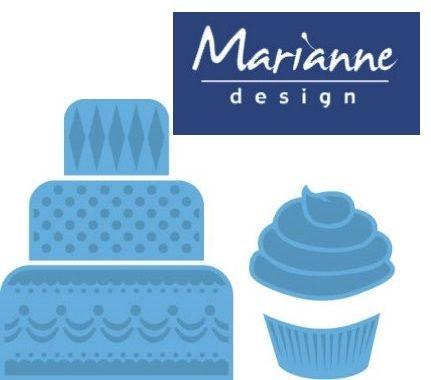Marianne Design  - Шаблон за рязане и ембос LR0341