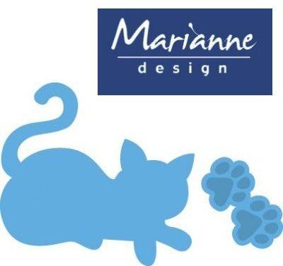 Marianne Design  - Шаблон за рязане и ембос LR0338