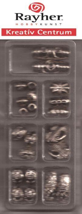 Rayher HOBBY  - Металикови елементи за гердани и колиета
