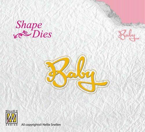 BABY by Nellie Snellen - Орнаментни щанци за рязане SD113