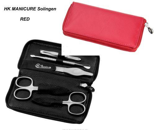 HK manicure SET Germany - Кожен несесер за маникюр