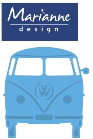 Marianne Design - Шаблон за рязане и ембос LR0359