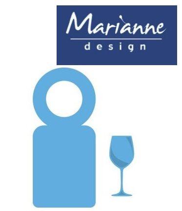 Marianne Design  - Шаблон за рязане и ембос LR0367