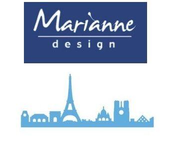 Marianne Design  - Шаблон за рязане и ембос LR0368