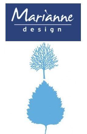 Marianne Design  - Шаблон за рязане и ембос LR0375