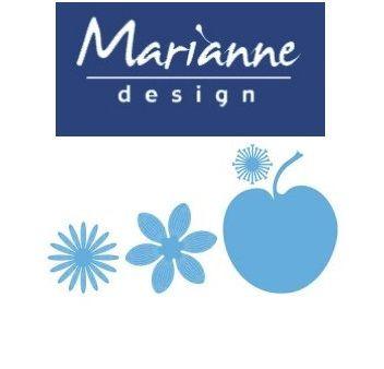 Marianne Design  - Шаблон за рязане и ембос LR0406