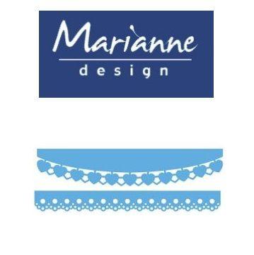 Marianne Design  - Шаблон за рязане и ембос LR0413