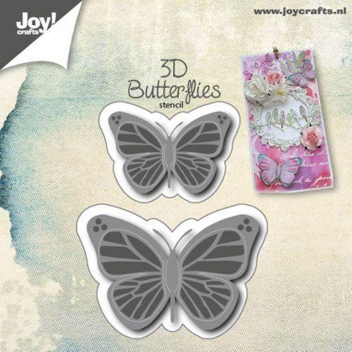 BUTTERFLIES JOY Crafts DIES  - Щанци за рязане и релеф  6002/0553