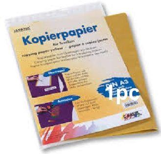 TEXTILE KOPIER A3 - Жълто индиго за копиране върху текстил 1бр (лист А3)