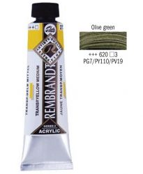 REMBRANDT ARTIST ACRYLIC 40ml -  ПРОФЕСИОНАЛНИ АКРИЛНИ БОИ #  OLIVE GREEN