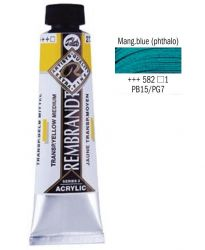 REMBRANDT ARTIST ACRYLIC 40ml -  ПРОФЕСИОНАЛНИ АКРИЛНИ БОИ #  MANGANESE BLUE