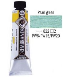 REMBRANDT ARTIST ACRYLIC 40ml -  ПРОФЕСИОНАЛНИ АКРИЛНИ БОИ #  PEARL GREEN