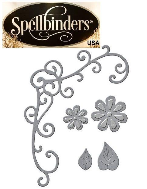 Spellbinders USA NEW - шаблон за изрязване и ембос S2-246