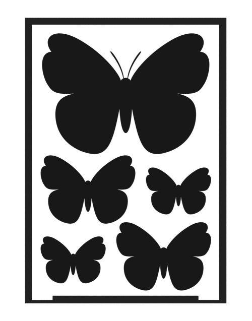 DESIGN SCHABLONE -Универсален шаблон за многократна употреба A5