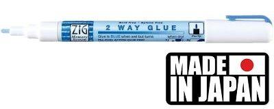 GLUE ZIG  2 WAY  - маркер/лепило за лепене и позлата 2 мм.