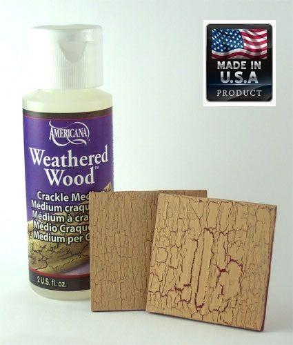 CRACKLE MEDIUM Weathered Wood - Кракле медиум една фаза 59мл