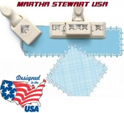 AROUND THE PAGE от Марта Стюарт - комплект бордюрен + ъглов пъч