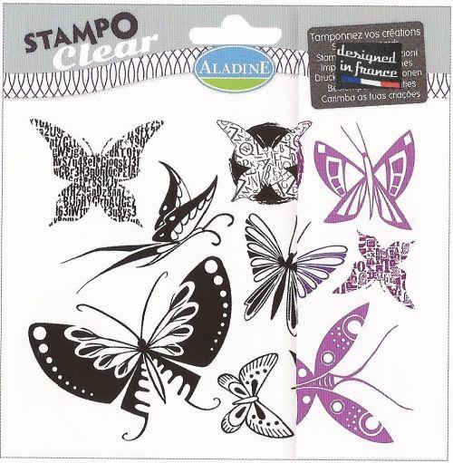 ALADINE Stampo Clear , France - Дизайнерски печати 15Х15см