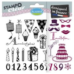 ALADINE Stampo Clear,France - Дизайнерски печати 15Х15см