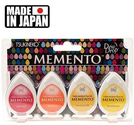 MEMENTO DEW DROP  - Тампони с ярък отпечатък  4 Piece Set CAMP FIRE