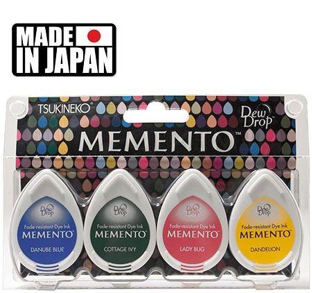 MEMENTO DEW DROP  - Тампони с ярък отпечатък  4 pc Set PRIME TIME