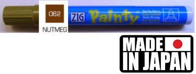 ZIG PAINTY MEDIUM NUTMEG  - Лак Маркер  2-3 мм. Made in Japan