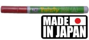 ZIG PAINTY FINE RED - маркер ЧЕРВЕН ЛАК 1,2 мм. Made in Japan