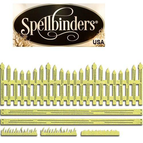 LABELS Spellbinders USA - К-кт шаблони за изрязване и ембос S4-536