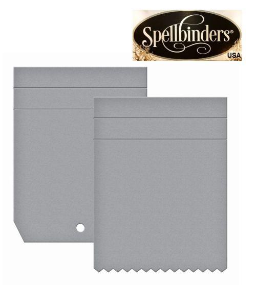 Spellbinders USA  - К-кт шаблони за изрязване и ембос S5-264