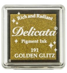"DELICATA Metallic ""Golden Glitz"" - Тампон с мастило ""течно злато"""
