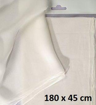 JAVANA SILK  PONGE SCARF - Поръбен шал от естествена коприна 180 Х 45 см.
