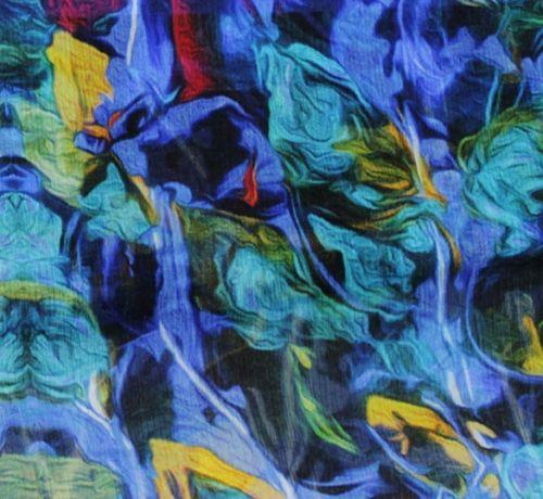 ART SILK  PONGE  - Поръбен шал от Eстествена коприна 55 Х 55 см.