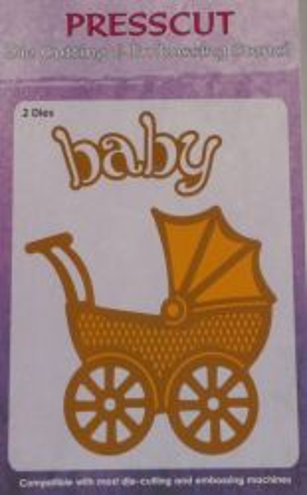 BABY PRAM by PRESSCUT - ЩАНЦА ЗА РЯЗАНЕ 10,3 Х 9,2 см