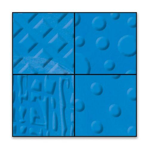 FISKARS TEXTURE PLATES - Плочи  за релеф 14.5х14.5см / 4 мотива ENERGY