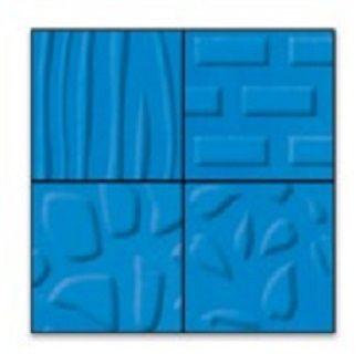 FISKARS TEXTURE PLATES - Плочи  за релеф 14.5х14.5см / 4 мотива NATURE