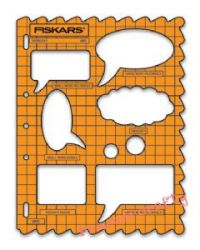 FISKARS TEMPLATE BUBLES  - Шаблон ЗА ИЗРЯЗВАНЕ