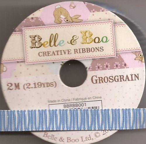BELLE & BOO Ribbon -   - Панделка  ролка 10 mm. X 2m. BLUE