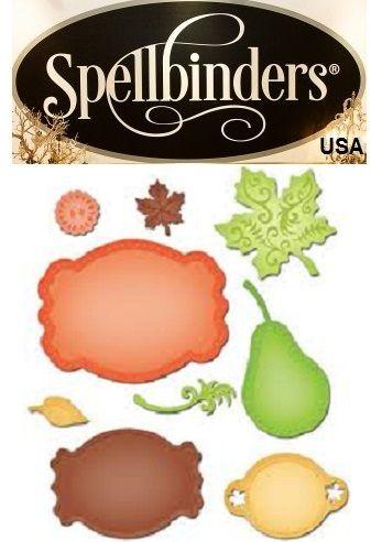 LABELS Spellbinders USA - Универсални шаблони за изрязване и ембос