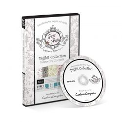 PAPERCARFTING CD-ROM - FROU FROU DIGIKIT COLLECTION